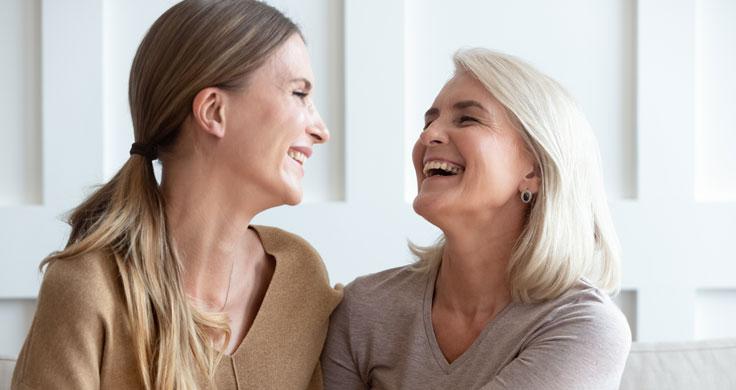 Lachen: heilende Wirkung