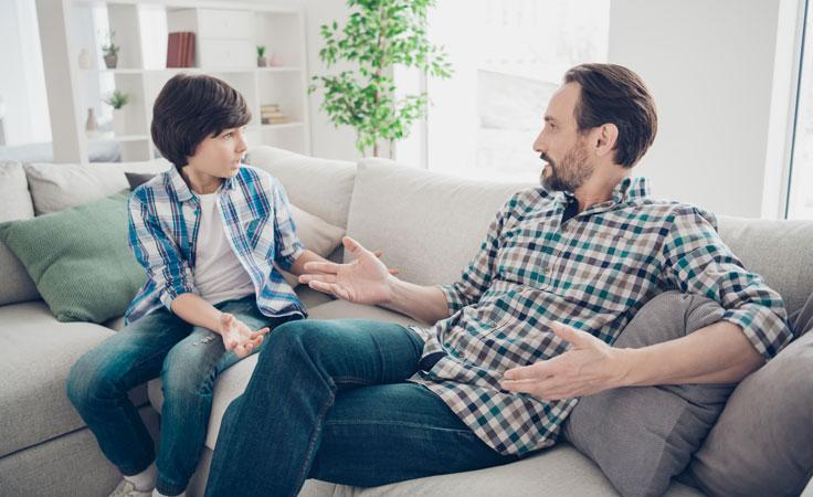 Glaubenssätze von Eltern weitergegeben