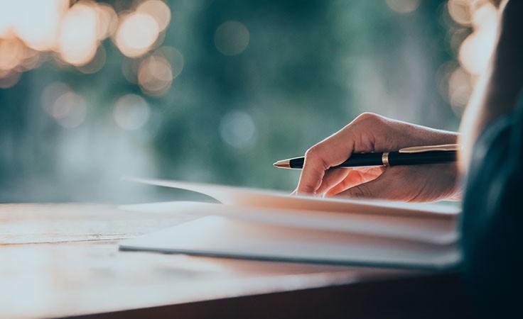 Lebenskrise überwinden durch Tagebuch schreiben