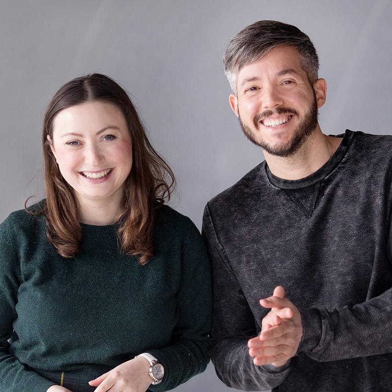 Milena Glimbovski und Jan Lenarz von Ein guter Plan