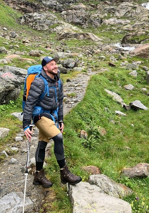 Nicks Alpenüberquerung